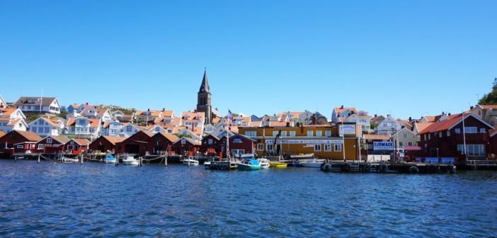 Fjällbacka Schweden | Wenn die Post mit dem Boot kommt
