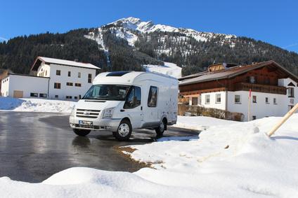 Winter Wohnmobil